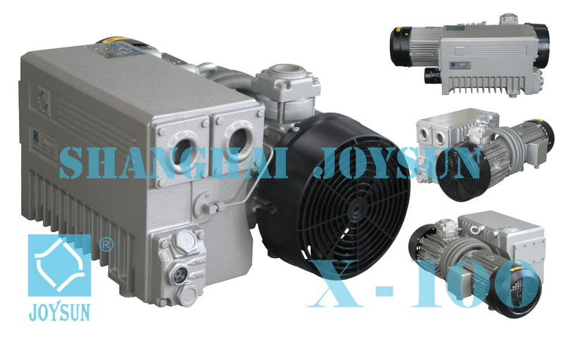 Single Stage Rotary Vane Vacuum Pump X 40 - X 100
