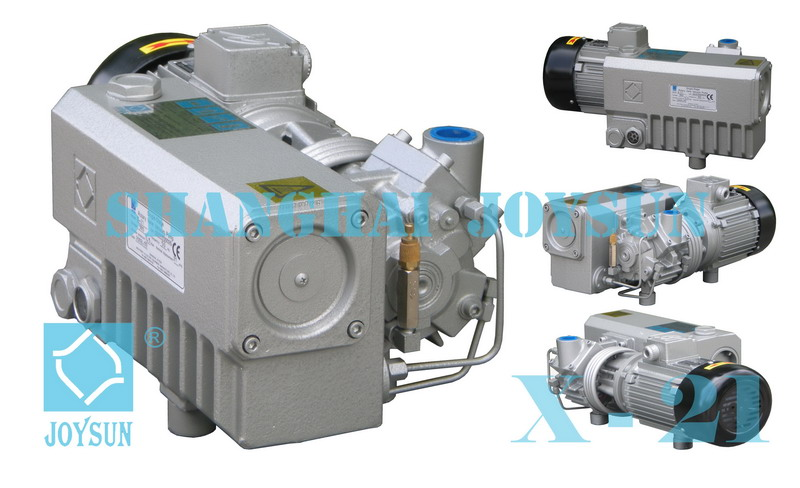 Single Stage Rotary Vane Vacuum Pump Model X10 - X 21